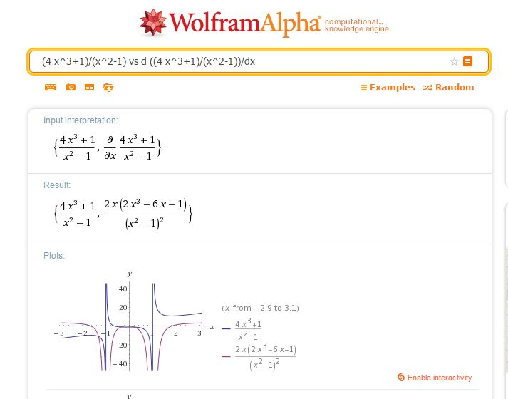 Solve Difficult Equations and Math Problems from Wolframalpha.com