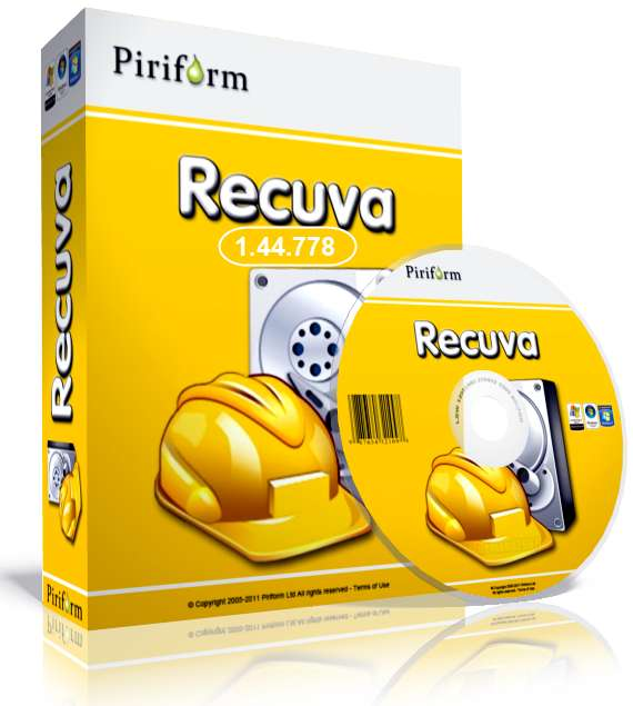 Recuva File Recovery Software for Windows