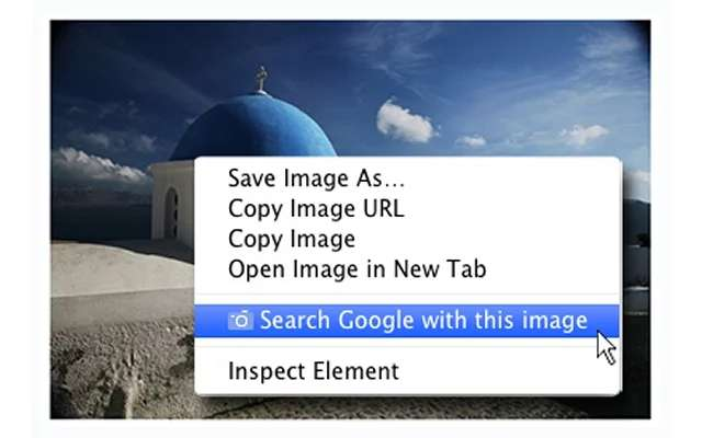 Search Google with this Image Extension
