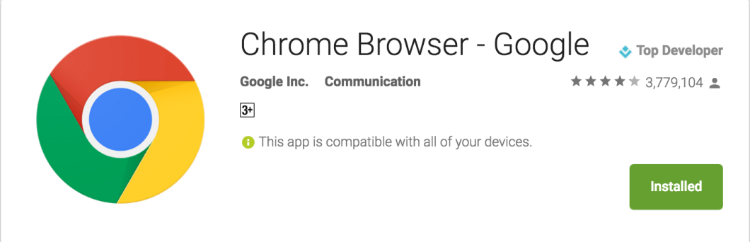 Chrome Browser for Mobile