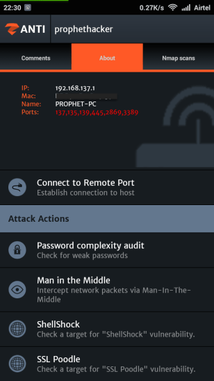 Hack Android Device in your Phone