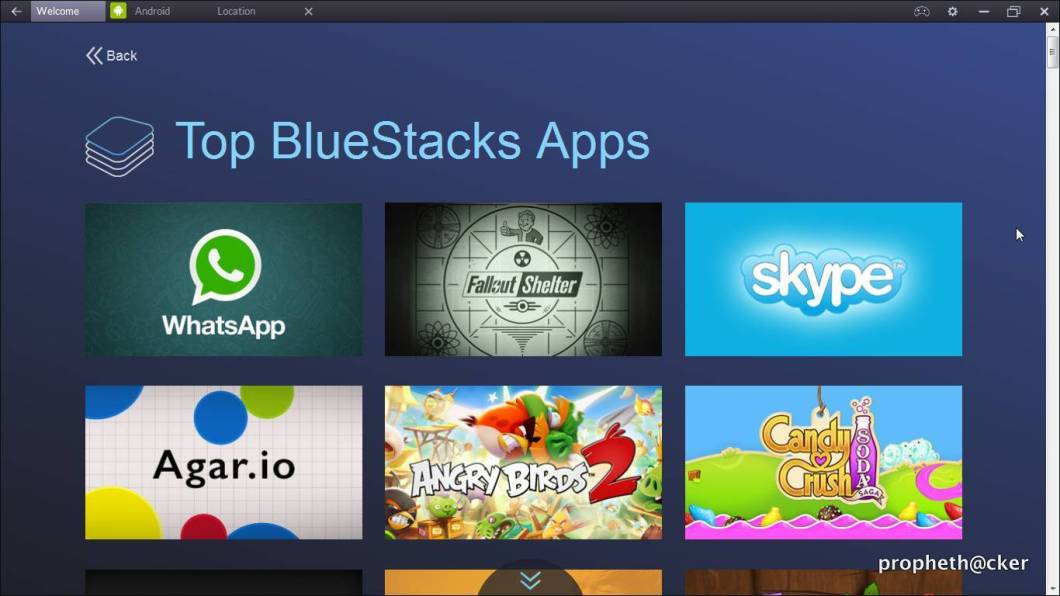 Bluestacks Apps