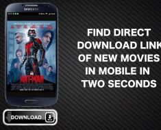 Find Direct Download Link of New Movies in Mobile(Ultra-Fast Method)