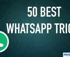 Best 50 Whatsapp Tricks for Mobile