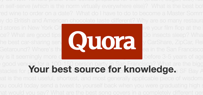 Quora- Question and Answer Anything