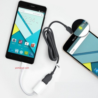 Connect Two Android with USB OTG for charging