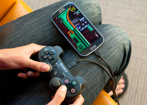 Connect Gamepad with Android Mobile USB OTG