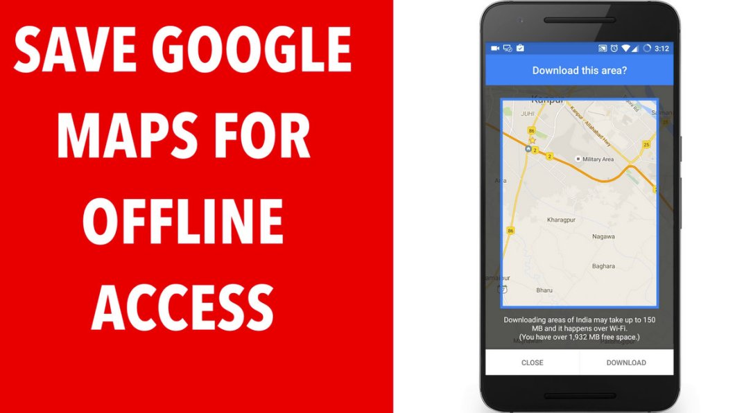 Download Google Maps for Offline in Android Mobile