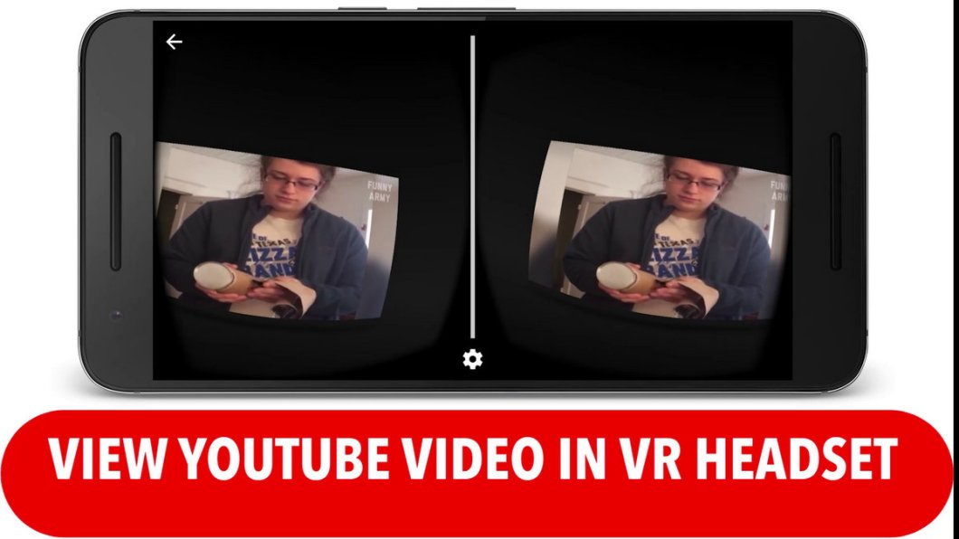 View Youtube Video in VR Headset