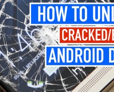 How to Unlock an Android Device with a Broken/Cracked Screen?