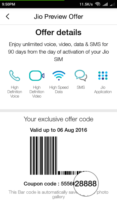 Trick To Activate Reliance Jio Preview Offer In All Android Phones