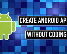 Create Android Apps without Coding and Programming