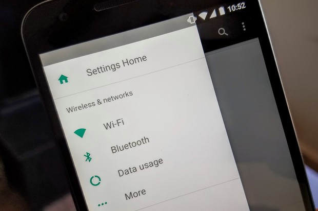 Easier Settings app navigation