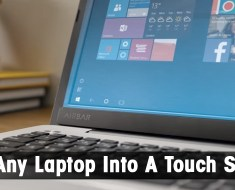How to turn any non-touchscreen laptop into touchscreen?