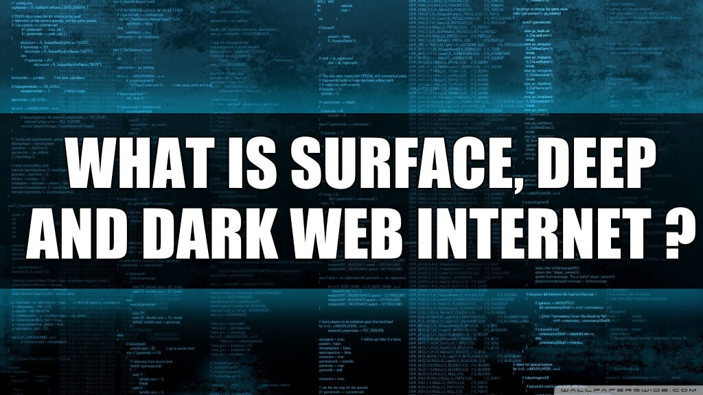 What is Surface, Deep, and Dark Web Internet?