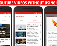 YouTube Go: Watch YouTube Videos Without Using Internet