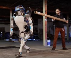 Atlas Robot- Boston Dynamics