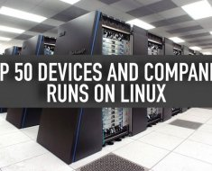 50 Big Companies and Amazing Devices Running on GNU/Linux