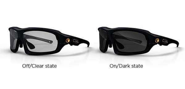 CTRL XC: the Fastest LCD-tint changing Sunglasses