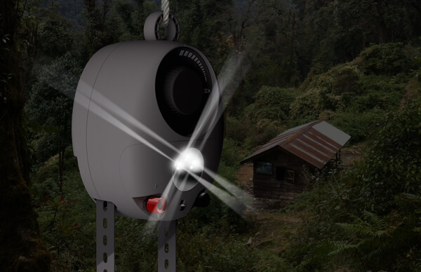 GravityLight: lighting for developing countries