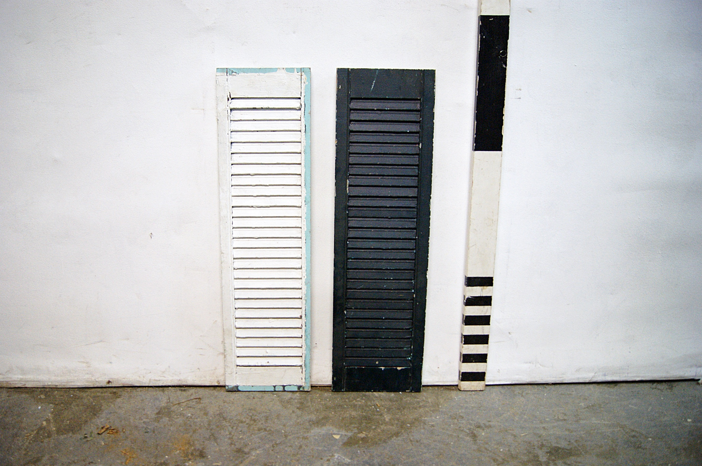 0088244 Small Continental Window Shutters H 80cm X 23 Each