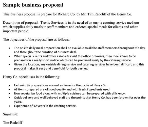 business idea template for proposal