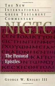 best commentaries on Timothy and Titus