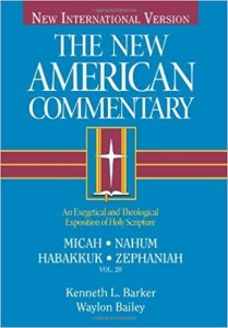best commentaries on the book of Nahum