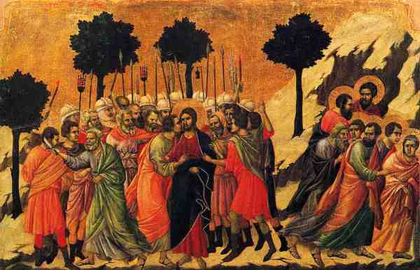 Duccio Betrayal of Christ