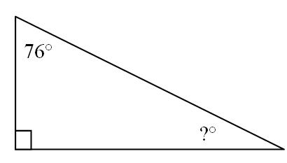 Missing Angle Measure
