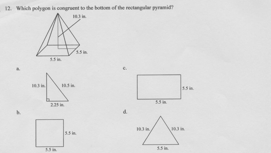 5th Grade Math: Can You Pass This Geometry Test? Trivia