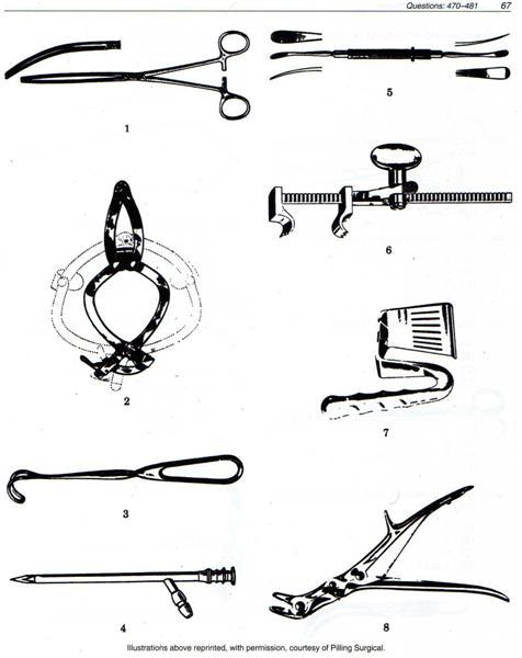 Surgical Technology Examination Appleton & Lange Pg59-73