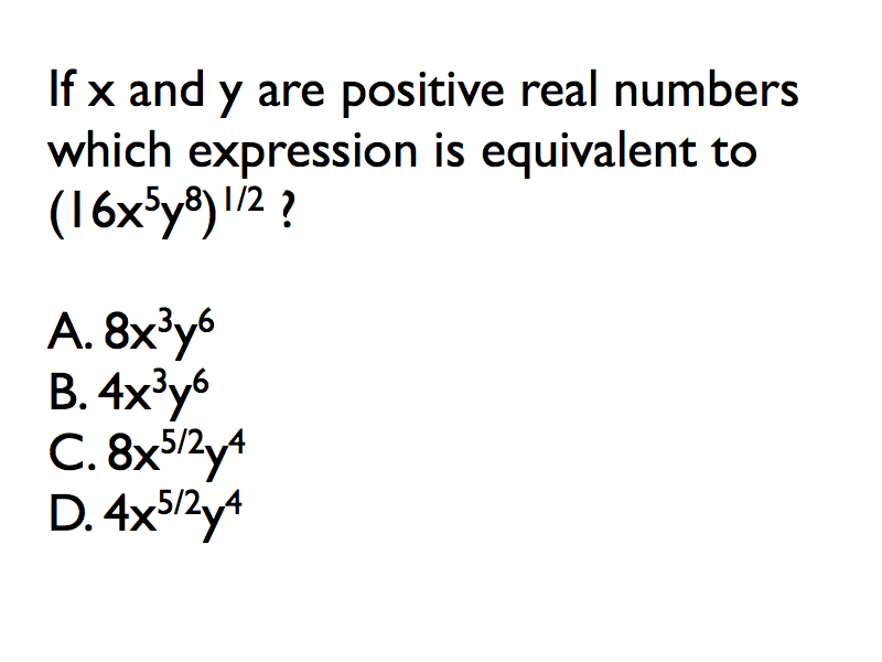 January 13-Multiplying Radicals & Rational Exponents