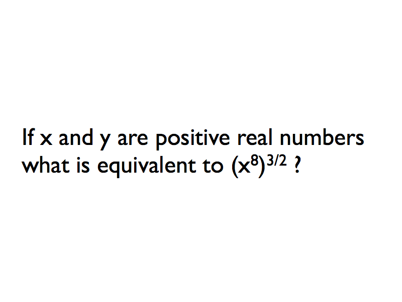 January 20-continued Practice On Exponents And Radicals
