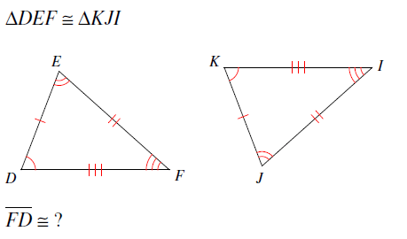 Apply congruence and triangles