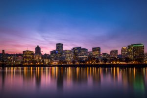 wasim muklashy Portland Oregon real estate photographer_downtown portland oregon skyline