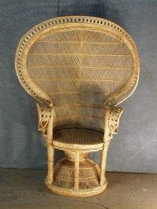 Rattan King Chair 2684  Props Unlimited Events LLC