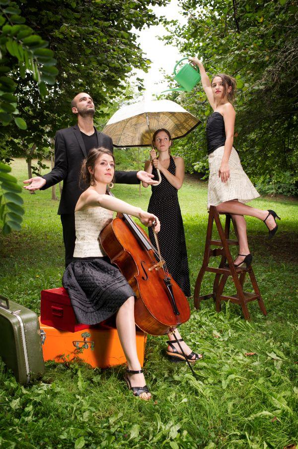 Quatuor Voce  ProQuartet  Centre europen de musique de chambre  Paris