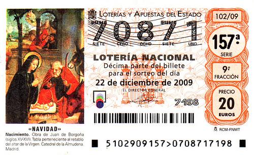 ¿Cómo tributa en IVA la venta de lotería con recargo de equivalencia?