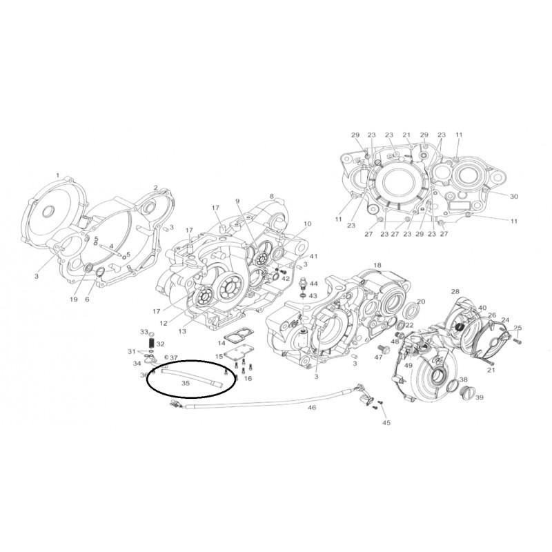 DURITE VASE D'EXPENSION 200 250 300 EC MC SM 05 GAS GAS
