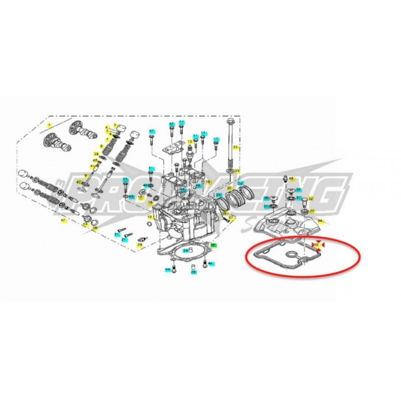 JOINT COUVERCLE SOUPAPES FSE/ WILD HP /PAMPERA/ FSR/ EC-SM