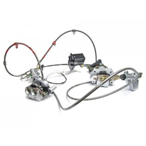 FREINAGE ARRIERE COMPLET QUAD 450 07-12 GAS GAS