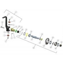 AXE KICK DE DEMARRAGE PAMPERA 02-05/ TXT 00-01 GAS GAS