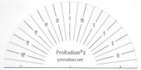 ProRadian® 2 Radian-Scale Protractor