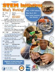 CCSU 2013 STEM Conference Flyer