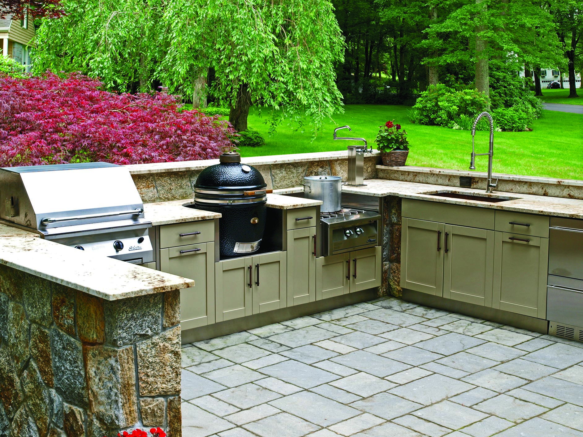 danver outdoor kitchens ikea kitchen drawers finishes pro remodeler
