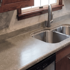 Cement Kitchen Sink Pictures A Carpenter S First Time Building Concrete Countertops Pro Remodeler