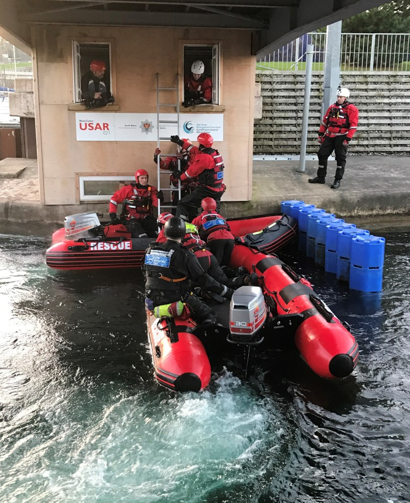 IRB 400 First Floor Rescues