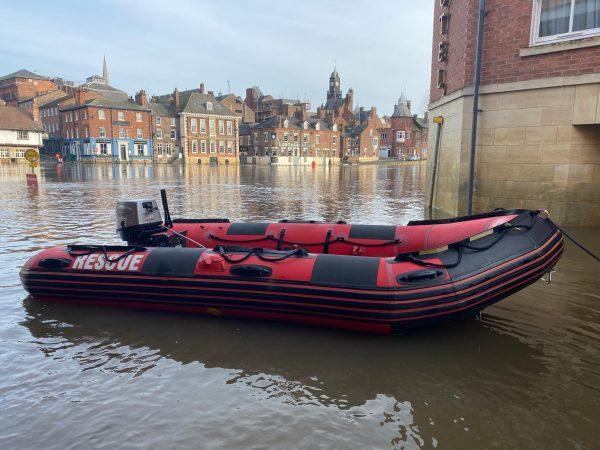 FR400 York Rescue Boat